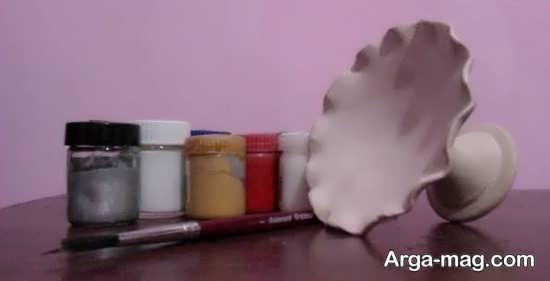 رنگ آمیزی روی ظروف سفالی