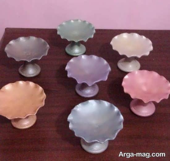رنگ آمیزی ظروف هفت سین
