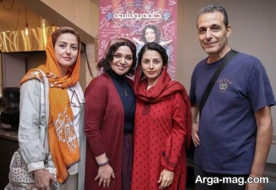 الهام پاوه نژاد و سایر بازیگران