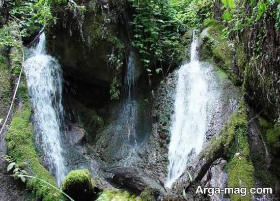 آبشاری در گرگان