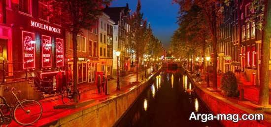 مکان های گردشگری هلند