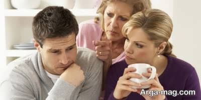 رفتار با خانواده شوهر