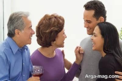 رفتار درست با خانواده شوهر