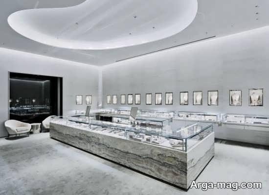 دیزاین شیک سقف مغازه