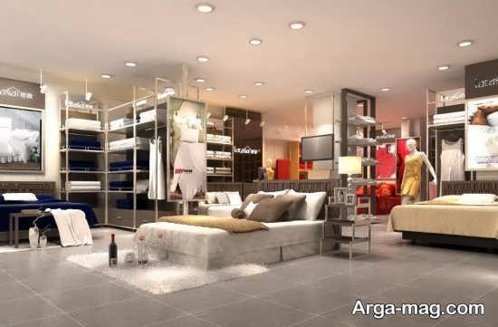 طراحی جدید سقف مغازه