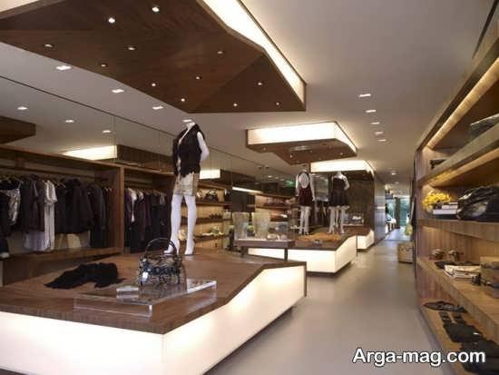 طراحی متفاوت سقف مغازه