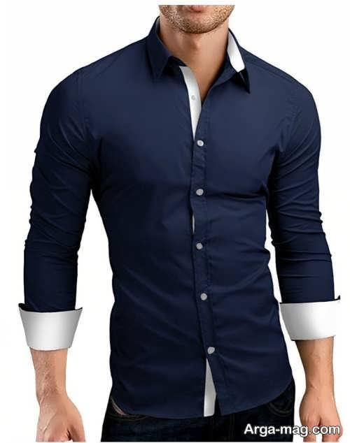 مدل پیراهن ساده و خاص مردانه