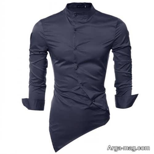 پیراهن ساده و زیبا مردانه