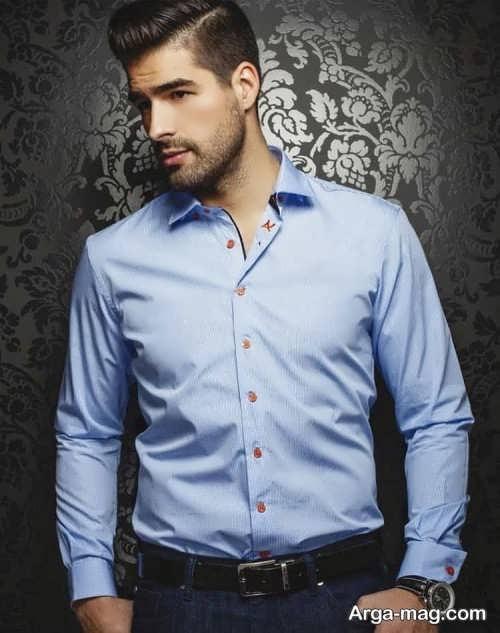 پیراهن ساده و شیک مردانه