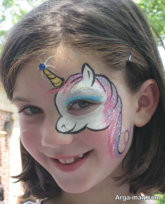 نقاشی انیمیشنی صورت