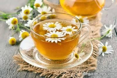درمان حالت تهوع با چای بابونه