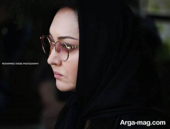 نیکی کریمی در عزای عباس کیارستمی