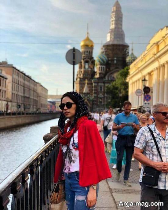 نیلوفر رجایی در روسیه