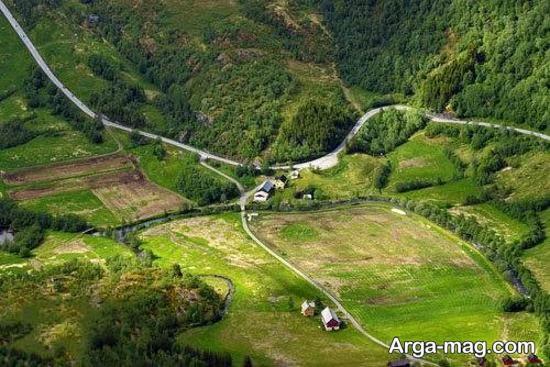 جاده زیبای نروژ