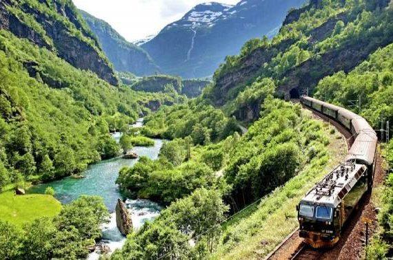 تصاویری بی نظیر از جاده نروژ