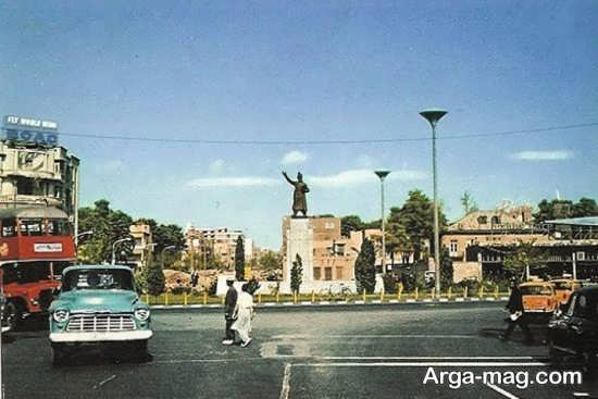 مکان های دیدنی تهران در قدیم