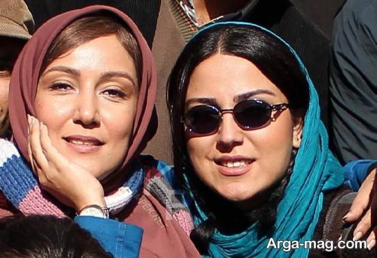 پانته آ بهرام در کنار بازیگر زن