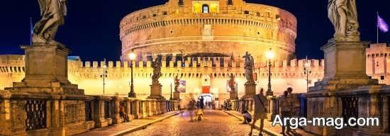 مکان های تماشایی رم