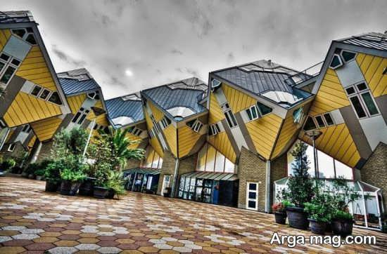 ساختمان های مکعبی روتردام