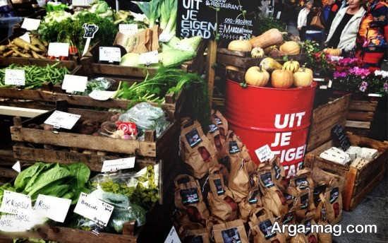 بازار شهر روتردام