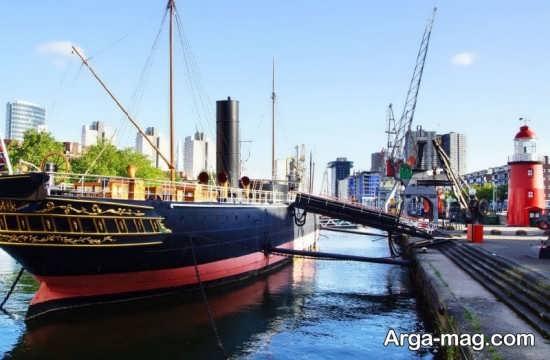 قایق رانی در روتردام