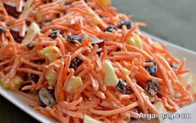 نحوه تهیه سالاد هویج