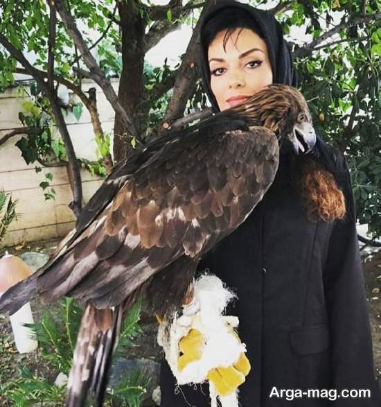 سارا خوئینی ها و عقابش