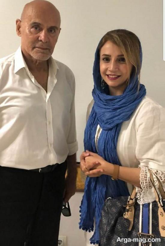 شبنم قلی خانی و جمشید هاشم پور