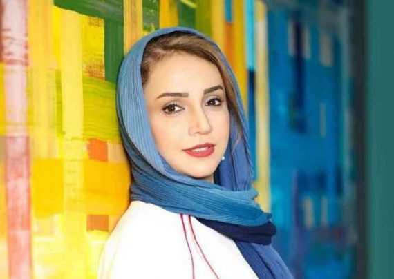 شبنم قلی خانی به یزد رفت + عکس