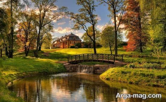 روستاهای زیبا در تابستان