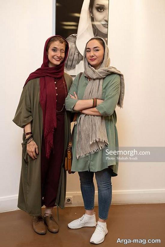 هانیه توسلی و مهناز افشار