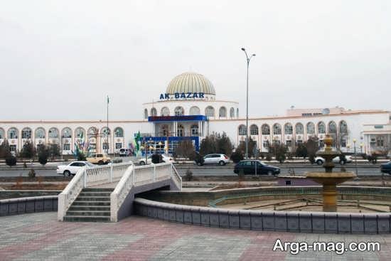 مکان های دیدنر ترکمنستان و جاذبه های آن