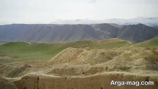 بیابان های زیبا در ترکمنستان