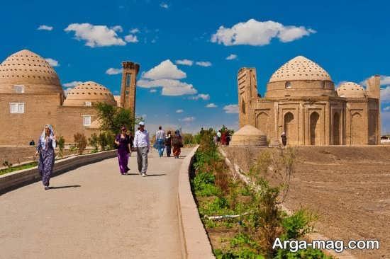بنای تاریخی ترکمنستان