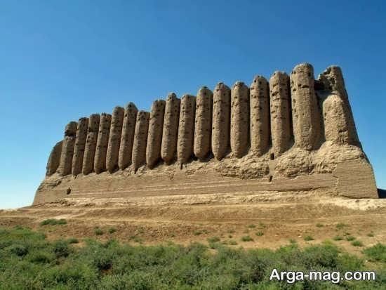 جاذبه های توریستی ترکمنستان