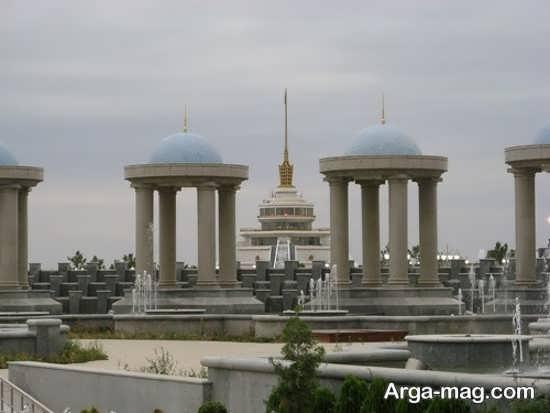 نمایی از ترکمنستان