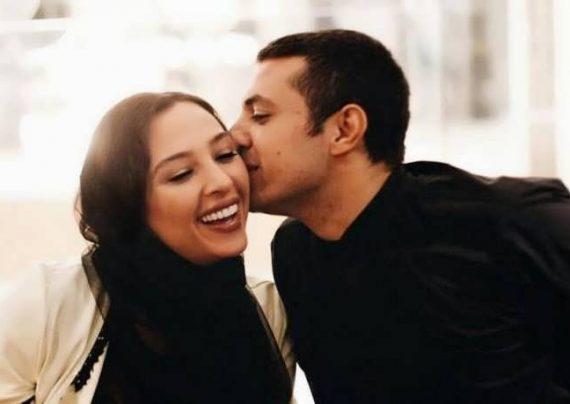 تیپ متفاوت اشکان خطیبی و همسرش