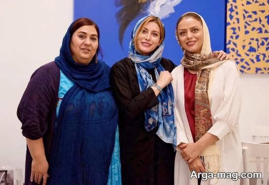 فریبا نادری در کنار بازیگران زن