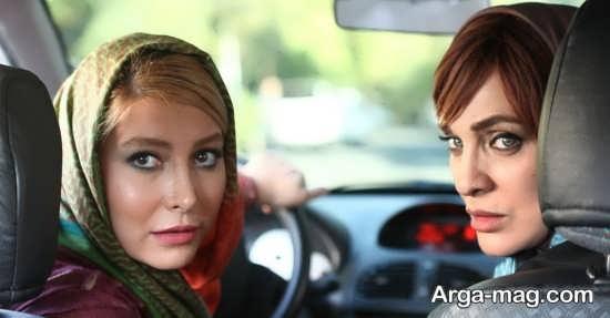 فریبا نادری در نمایی از فیلم سینمایی