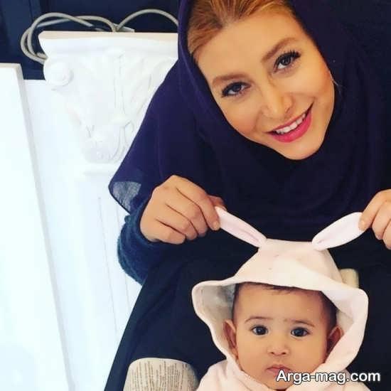 تصاویر از فریبا نادری و دخترش