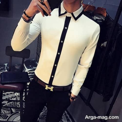 مدل پیراهن پسرانه مجلسی