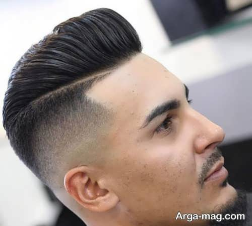 مدل موی پسرانه یک طرفه فشن