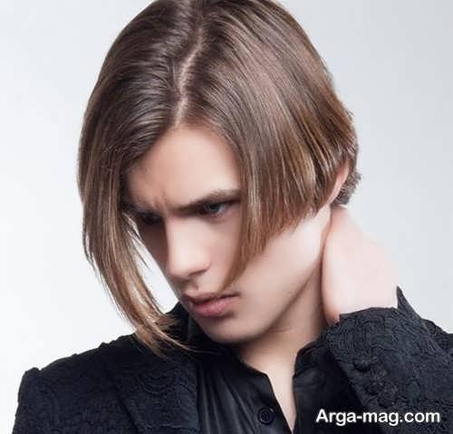 مدل موی پسرانه یک طرفه جدید