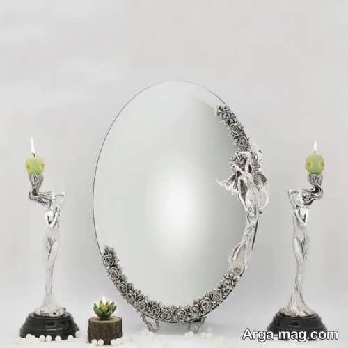 مدل آینه و شمعدان عروس