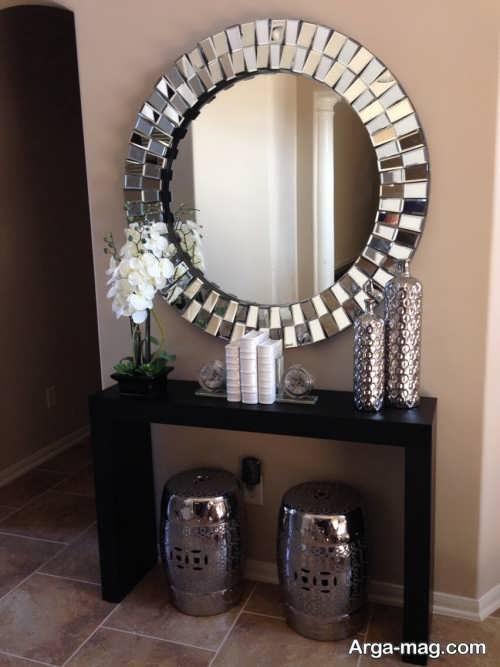 مدل آینه و شمعدان عروس شیک و جدید
