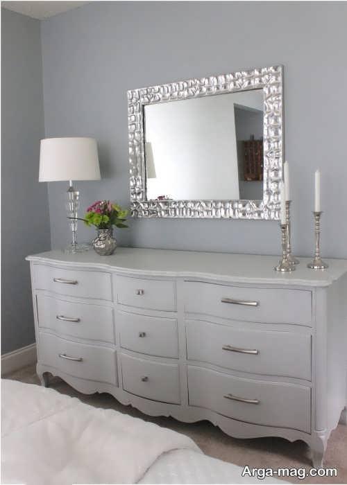 آینه و شمعدان زیبا و شیک برای عروسی