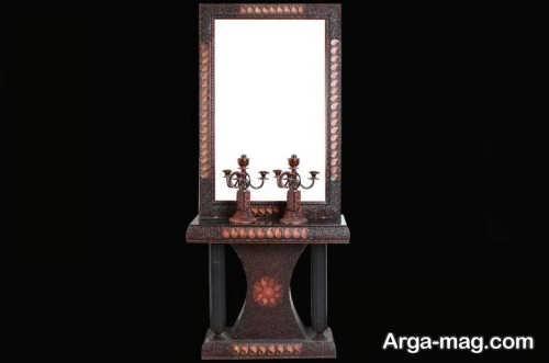 آینه و شمعدان برای عروس