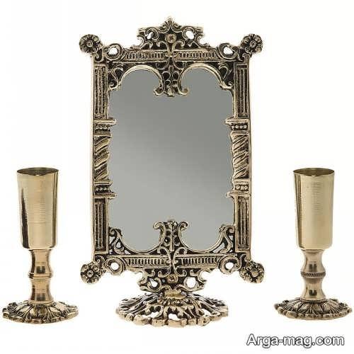 مدل آینه و شمعدان جدید و شیک