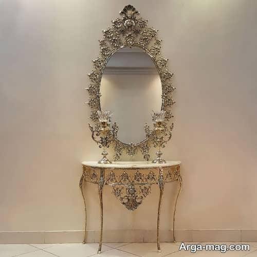 مدل آینه و شمعدان شیک و جدید