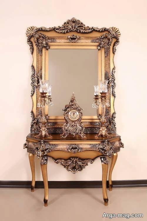 مدل آینه و شمعدان و ساعت برای عروسی
